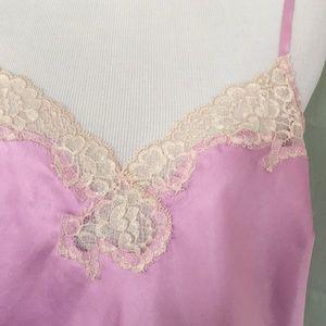 Victoria's Secret lavender purple lace nightgown L